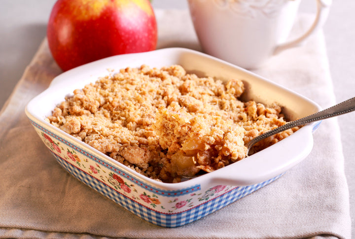 Apple Crumble with Adam's Original Apple Chilli Jelly