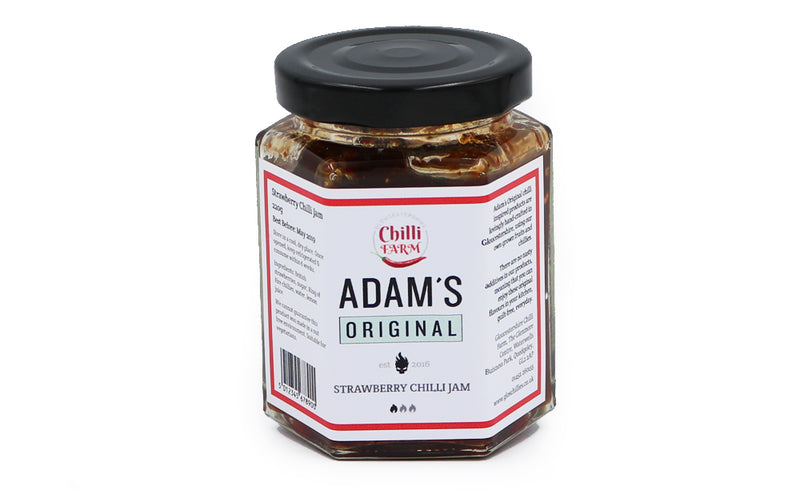ADAM'S ORIGINAL STRAWBERRY CHILLI JAM (220G)