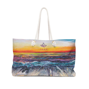 Yoga on the Beach - Weekender Bag, Bag, YOGA on the Beach - MerchHeaven.com