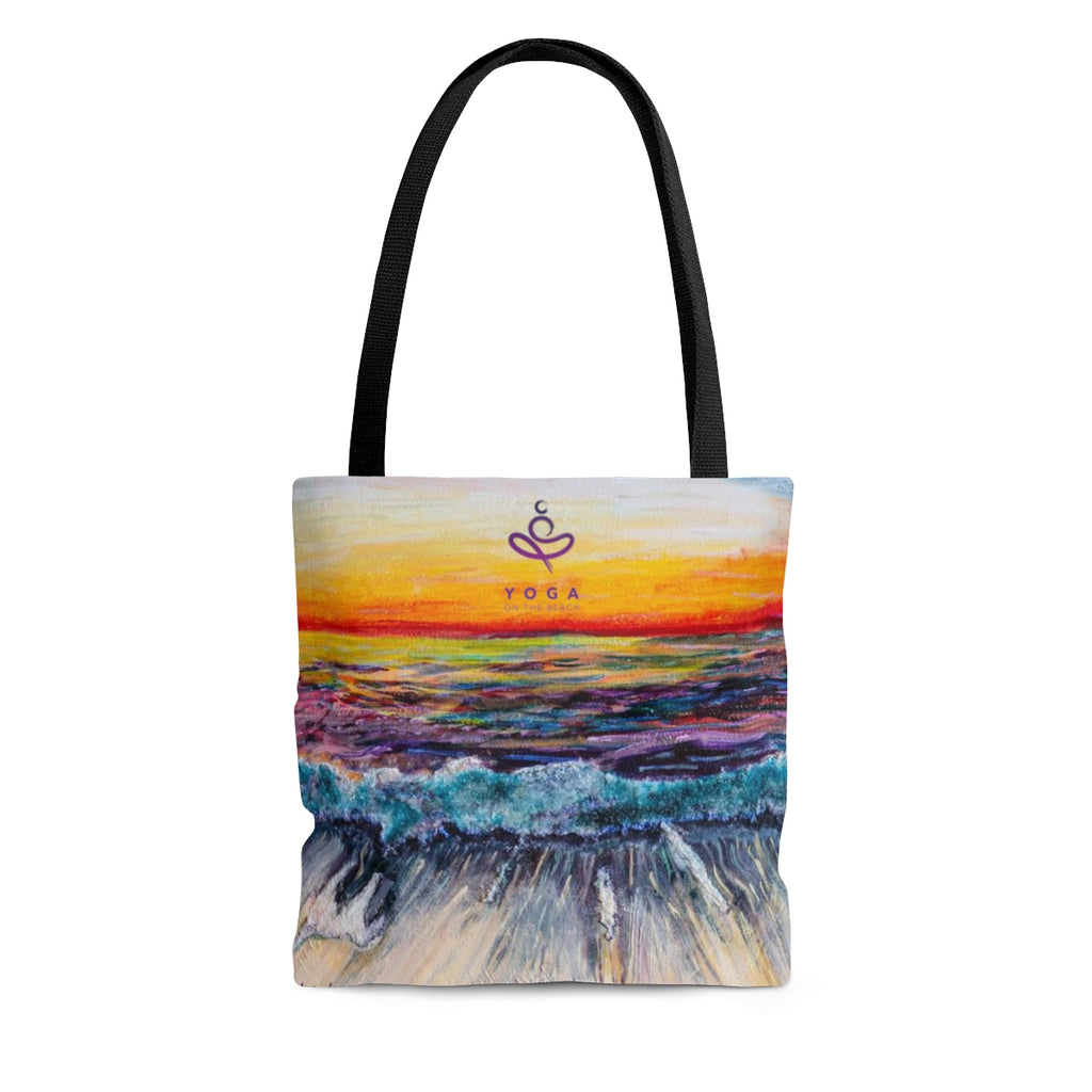 Yoga on the Beach Tote Bag, Bag, YOGA on the Beach - MerchHeaven.com