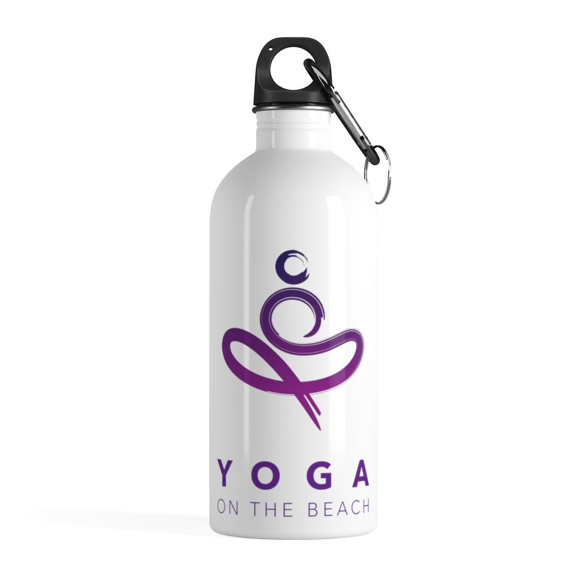 Yoga on the Beach (YOTB) - Stainless Steel Water Bottle, Bottle, YOGA on the Beach - MerchHeaven.com