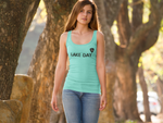Travis Dolter - Lake Day - Women's Tri-Blend Racerback Tank, Women's Tri-Blend Racerback Tank, Travis Dolter Music - MerchHeaven.com