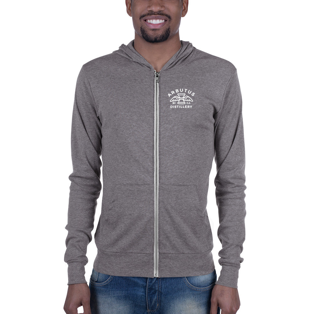 Hoodie - Arbutus Distillery - Grey Triblend / XS - MerchHeaven.com merchandise and Branding