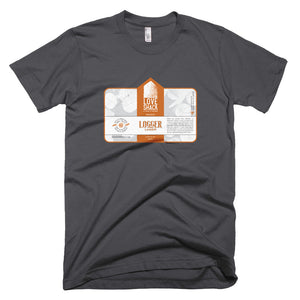 Shirt - Love Shack Libations - Asphalt / XS - MerchHeaven.com merchandise and Branding