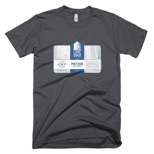 Love Shack Libations - Post-Ride Pilsner Label Shirt - American Apparel 2001 T-Shirt, Shirt, Love Shack Libations - MerchHeaven.com