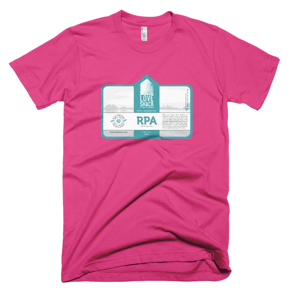 Shirt - Love Shack Libations - Fuchsia / XS - MerchHeaven.com merchandise and Branding