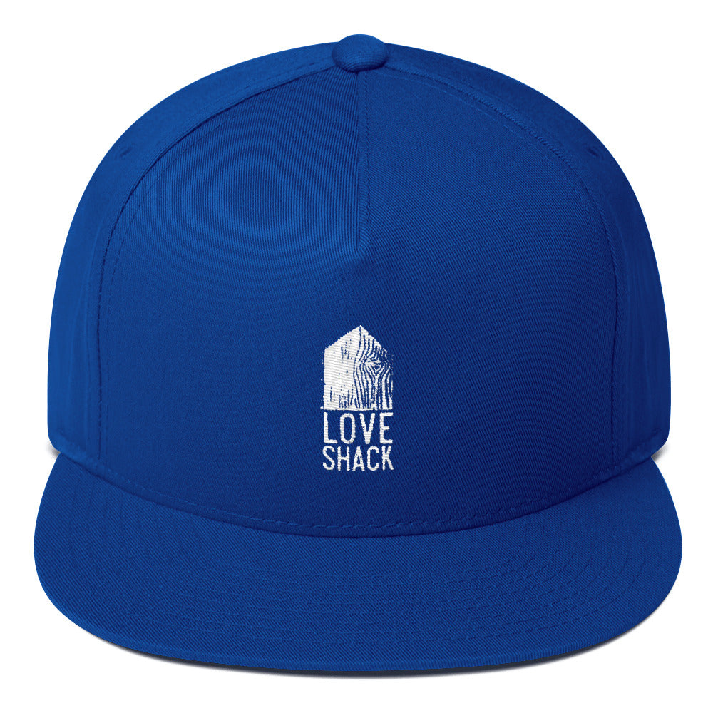 Love Shack Libations - Yupoong 6007 Five Panel Flat Bill Cap, Hat, Love Shack Libations - MerchHeaven.com