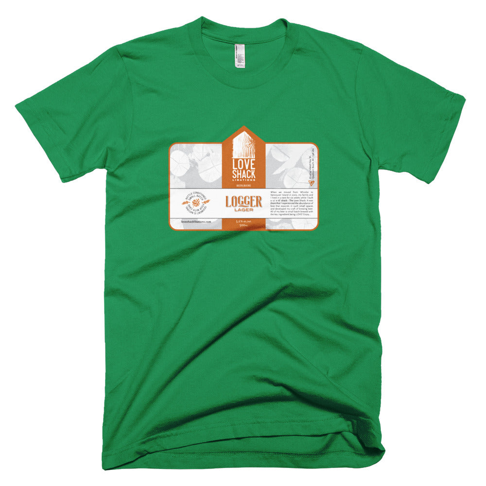 Shirt - Love Shack Libations - Kelly Green / XS - MerchHeaven.com merchandise and Branding