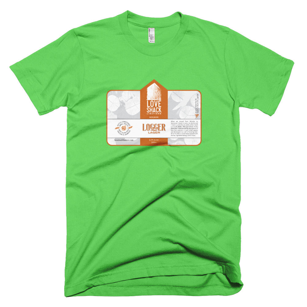 Shirt - Love Shack Libations - Grass / XS - MerchHeaven.com merchandise and Branding