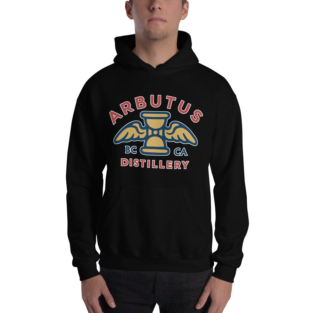 Arbutus Distillery - Gildan 18500 Unisex Heavy Blend Hooded Sweatshirt, Shirt, Arbutus Distillery - MerchHeaven.com