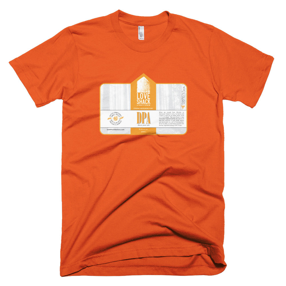 Shirt - Love Shack Libations - Orange / XS - MerchHeaven.com merchandise and Branding