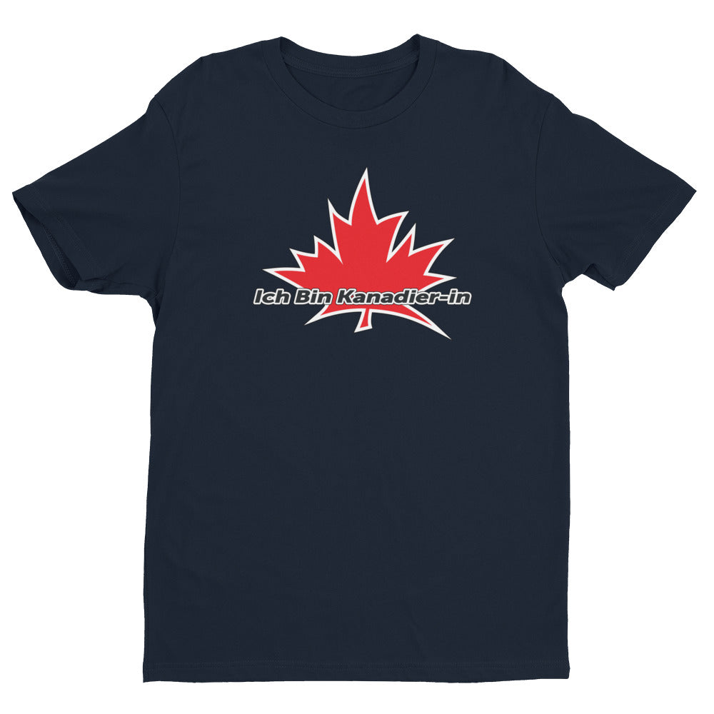 'I Am Canadian' 'Ich Bin Kanadier-in' Short Sleeve T-shirt (German female), Shirt, I Am Canadian - MerchHeaven.com