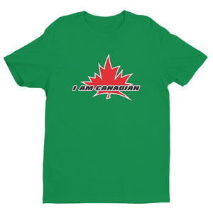 'I Am Canadian' Short Sleeve T-shirt (English), Shirt, I Am Canadian - MerchHeaven.com