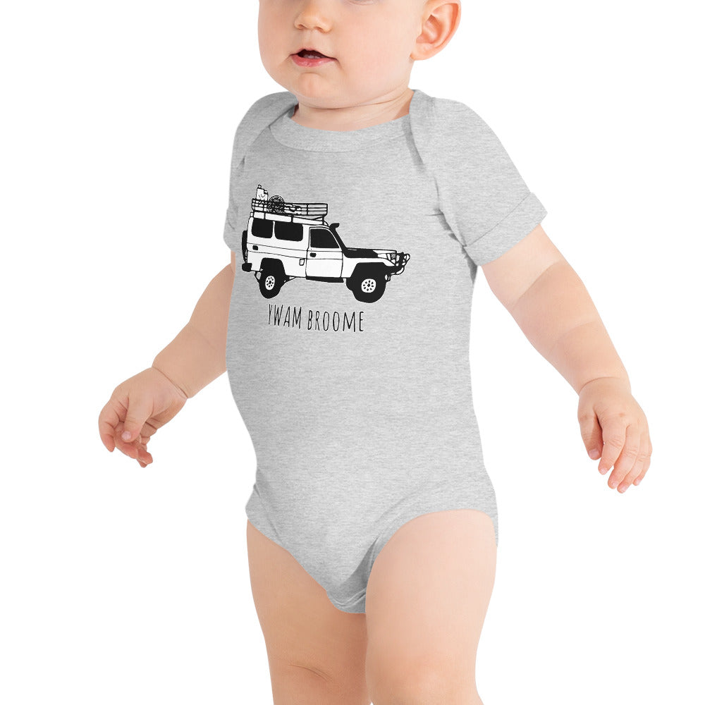 YWAM Broome - Baby short sleeve jumper
