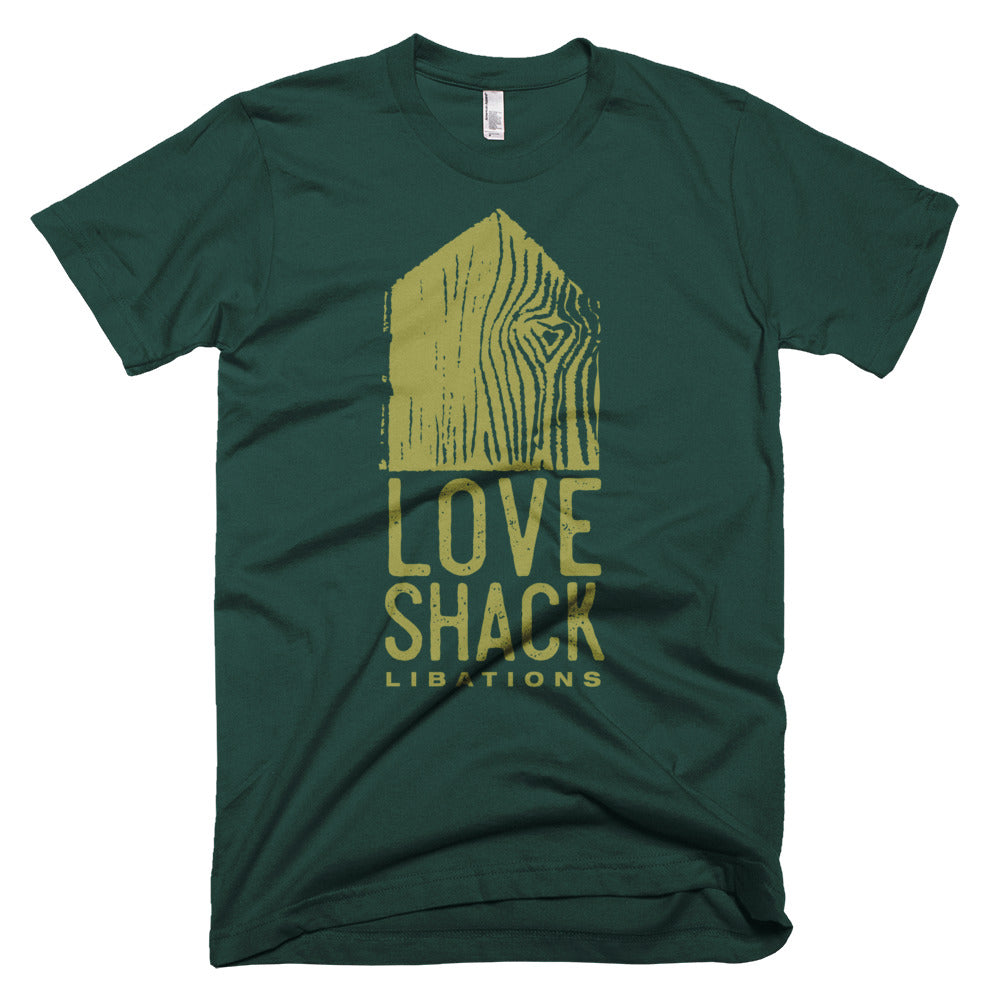 Shirt - Love Shack Libations - Forest / XS - MerchHeaven.com merchandise and Branding