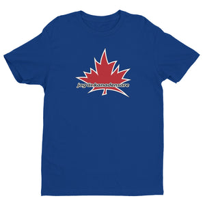 I Am Canadian' 'jag är kanadensare' - Premium Fitted Short Sleeve Crew (Swedish), Shirt, I Am Canadian - MerchHeaven.com