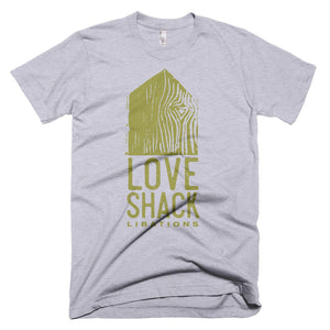 Shirt - Love Shack Libations - Heather Grey / XS - MerchHeaven.com merchandise and Branding