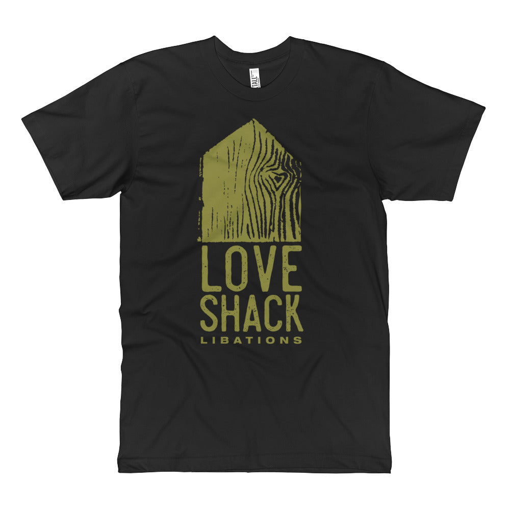 Love Shack Libations - Green Logo - Unisex Fine Jersey TALL T-Shirt, T-Shirt, Love Shack Libations - MerchHeaven.com