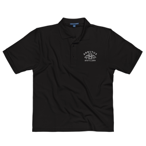 Arbutus Distillery Embroidered Port Authority Polo Shirt (Polyester/Cotton), Shirt, Arbutus Distillery - MerchHeaven.com