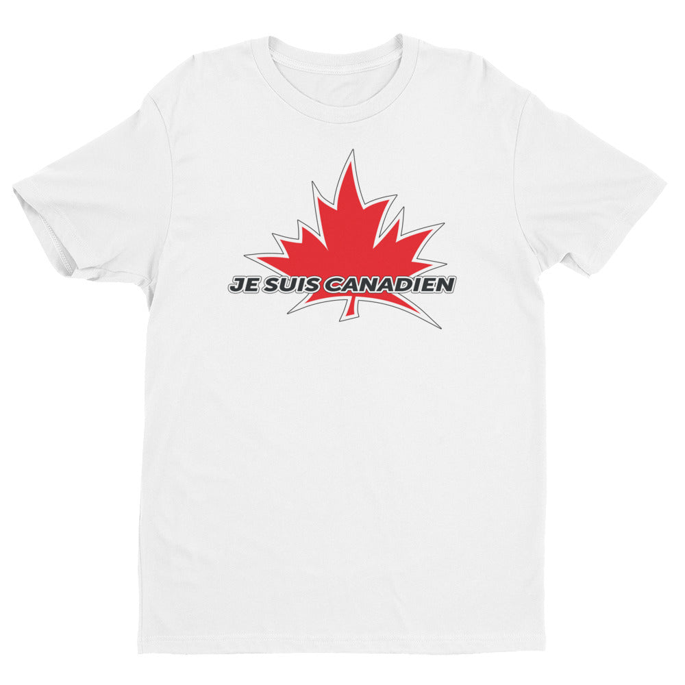 'I Am Canadian' 'Je Suis Canadien' Short Sleeve T-shirt (Francais), Shirt, I Am Canadian - MerchHeaven.com