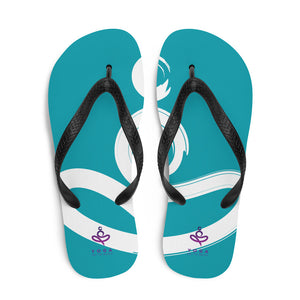 Yoga on the Beach (YOTB) - Flip-Flops, Shoes, YOGA on the Beach - MerchHeaven.com