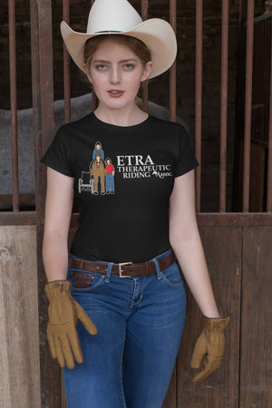 ETRA Therapeutic Riding Association - More samples, Sample, ETRA - MerchHeaven.com