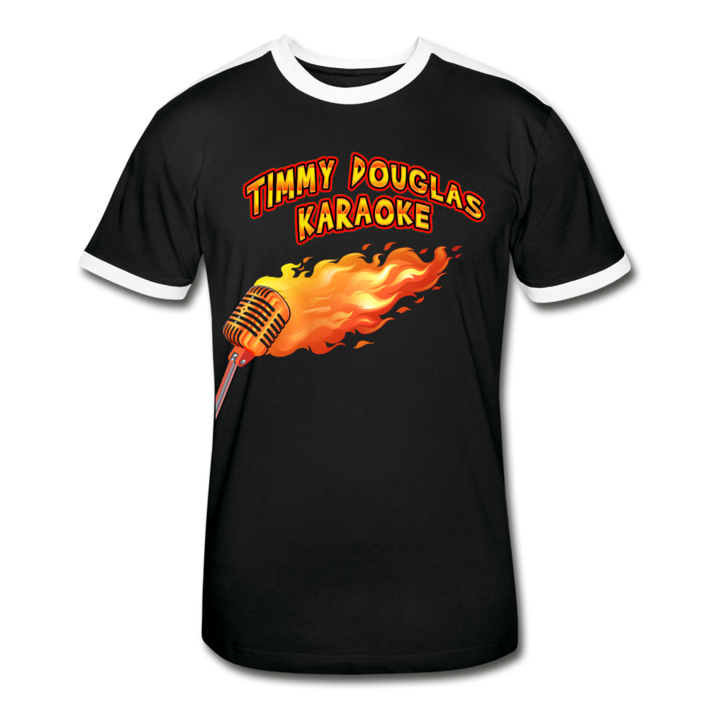 Timmy Douglas Karaoke - Retro Shirt, Men's Retro T-Shirt, Timmy Douglas - MerchHeaven.com
