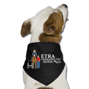 ETRA Therapeutic Riding Association - Dog Bandana, Dog Bandana, ETRA - MerchHeaven.com