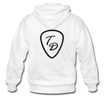 Travis Dolter - Gildan Heavy Blend Adult Zip Hoodie - white