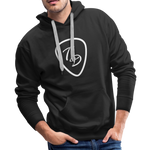 Travis Dolter - Guitar Pick - Men's Premium Hoodie - black