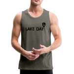 Travis Dolter - Lake Day - Men's Premium Tank Top, Men's Premium Tank, Travis Dolter Music - MerchHeaven.com