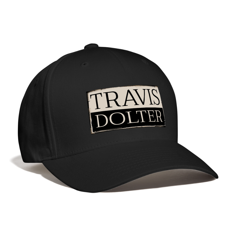 Travis Dolter Baseball Cap - black