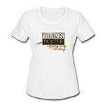 Travis Dolter - Every song a story - Women's Moisture Wicking Performance T-Shirt, Women's Moisture Wicking Performance T-Shirt, Travis Dolter Music - MerchHeaven.com