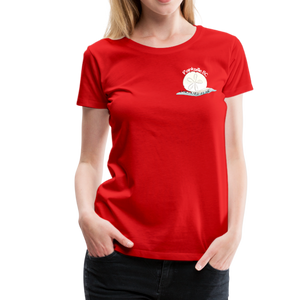 Parksville Visitor Centre - Women's Premium T-Shirt - red