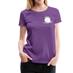 Parksville Visitor Centre - Women's Premium T-Shirt - purple