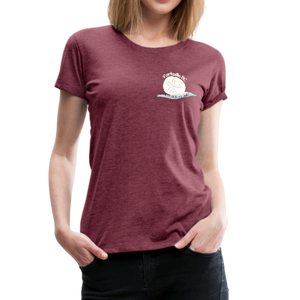 Parksville Visitor Centre - Women's Premium T-Shirt - heather burgundy