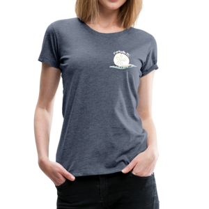 Parksville Visitor Centre - Women's Premium T-Shirt - heather blue