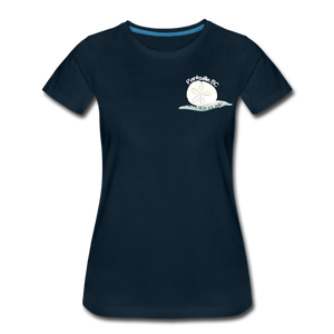 Parksville Visitor Centre - Women's Premium T-Shirt - deep navy