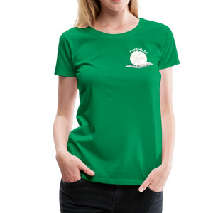 Parksville Visitor Centre - Women's Premium T-Shirt - kelly green