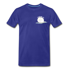 Parksville Visitor Centre - Sand Dollar Men's Premium T-Shirt - royal blue