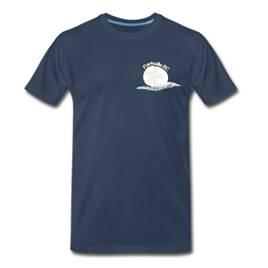 Parksville Visitor Centre - Sand Dollar Men's Premium T-Shirt - navy
