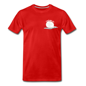 Parksville Visitor Centre - Sand Dollar Men's Premium T-Shirt - red
