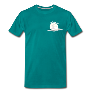 Parksville Visitor Centre - Sand Dollar Men's Premium T-Shirt - teal