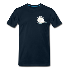 Parksville Visitor Centre - Sand Dollar Men's Premium T-Shirt - deep navy