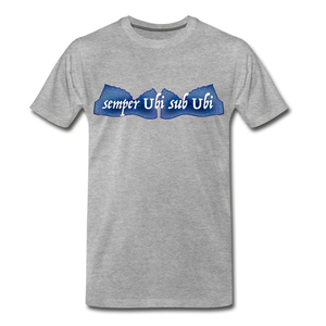 semper Ubi sub Ubi - T-Shirt - heather gray
