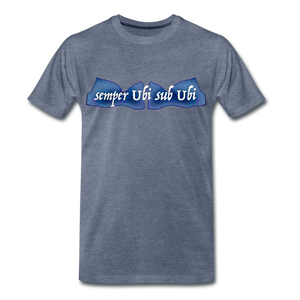 semper Ubi sub Ubi - T-Shirt - heather blue