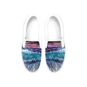 'All Creation Sings' Slip-on Shoes, Shoes, Michelle Manke - MerchHeaven.com