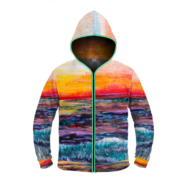 'All Creation Sings' LED Light Up Hoodie, Hoodie, Michelle Manke - MerchHeaven.com