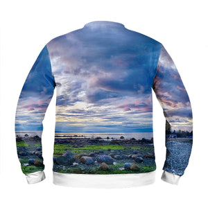 Qualicum Beach All-Over Sweatshirt, Shirt, Ron Manke - MerchHeaven.com