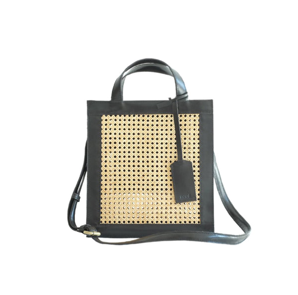SIA 2 Way Tote - Black